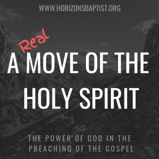 a real move of the holy ghost